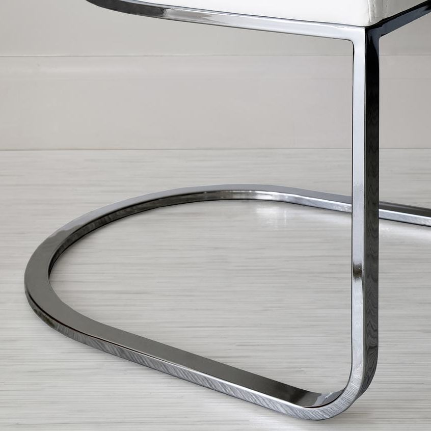 Form Black Chrome Cantilever Dining Armchair, £149