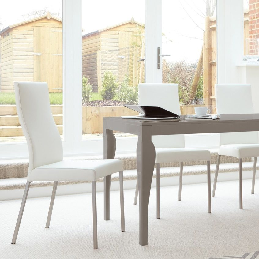 Iva Real Leather Dining Chair, £149