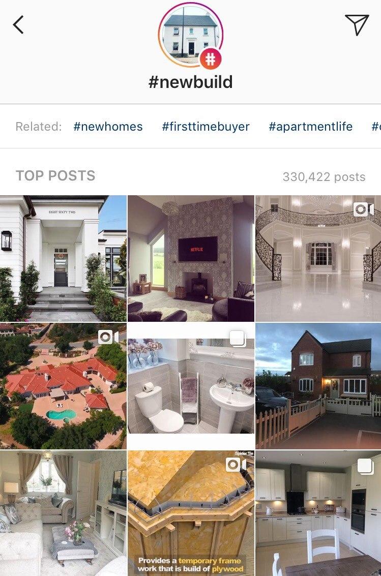 Danetti Instagram New Build Hashtag