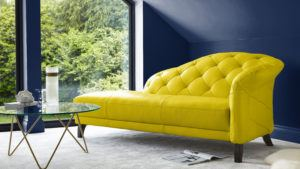 Mustard Luxe with Dark Walls