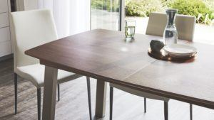 Walnut Assi Extending Dining Table