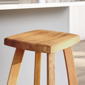 Solid Oak Bar Stools