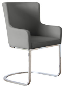 Form Dining Armchair in Putty Grey
