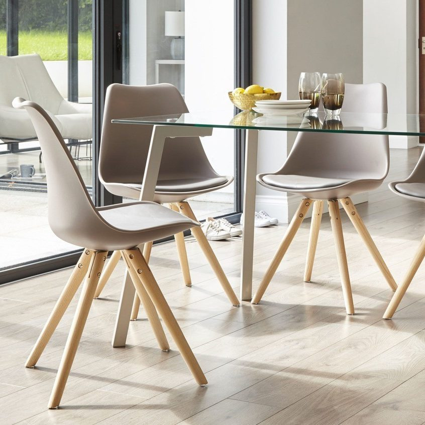Ida Dining Chair in Taupe