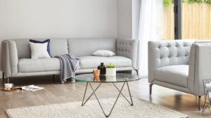 Ellis 3 seater Sofa and Armchair