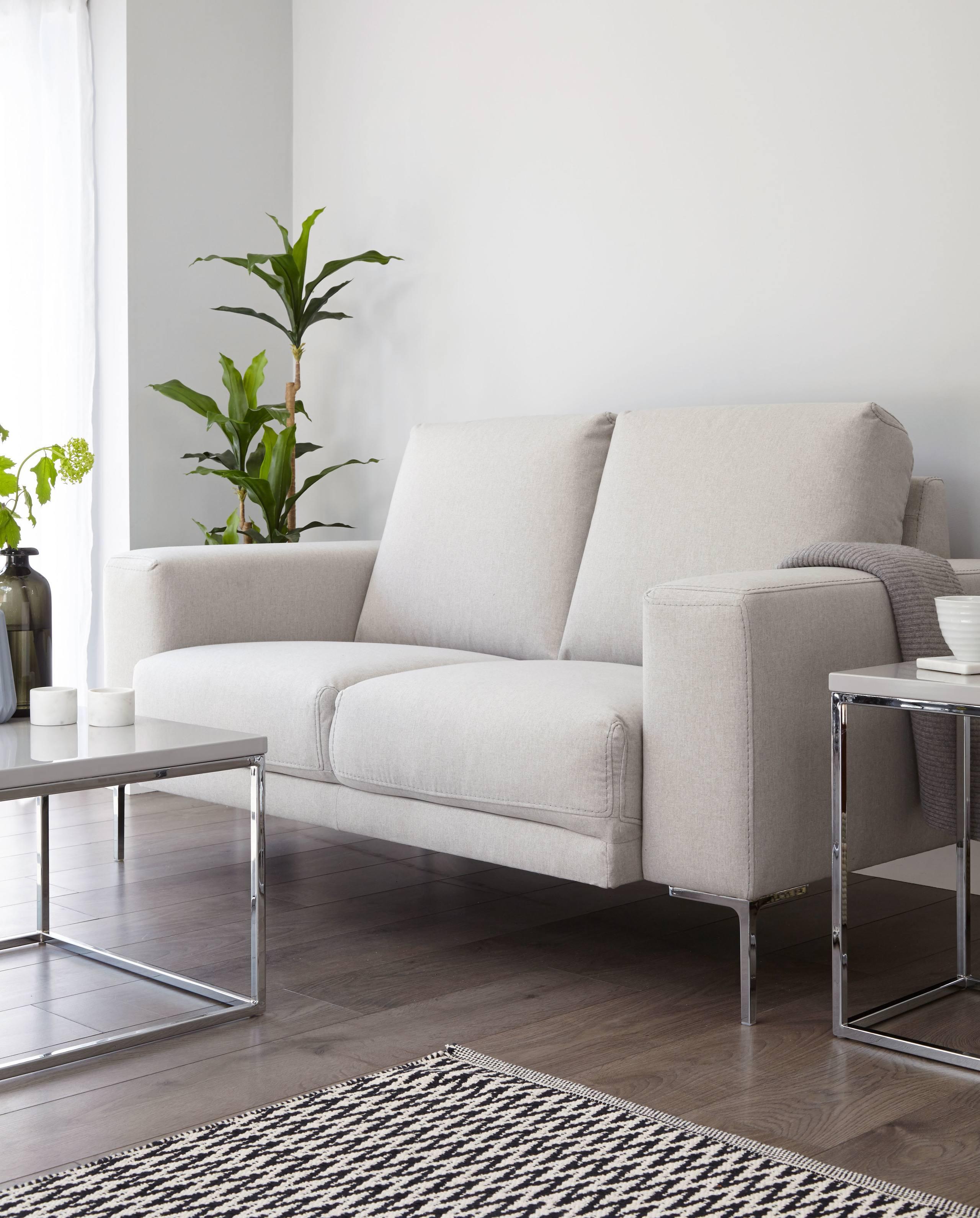 Studio Fabric 2 Seater Sofa