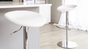 Anzio Gas Lift Bar Stool Detail