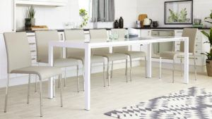 Metro Dining Table Fully Extended