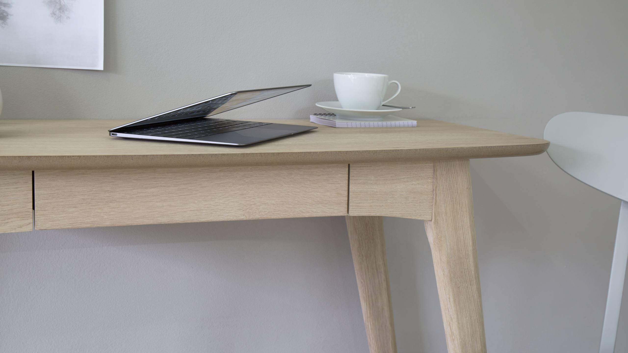 Scandi Natural Oak Desk