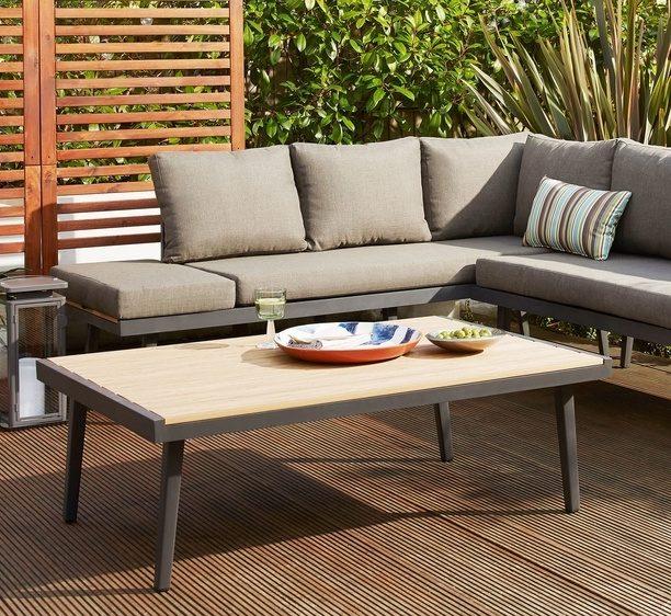 Palermo Grey Outdoor Coffee Table