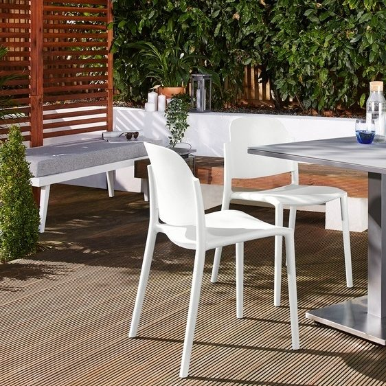 Palermo Grey Pedestal Table and Lola Small Dining Set