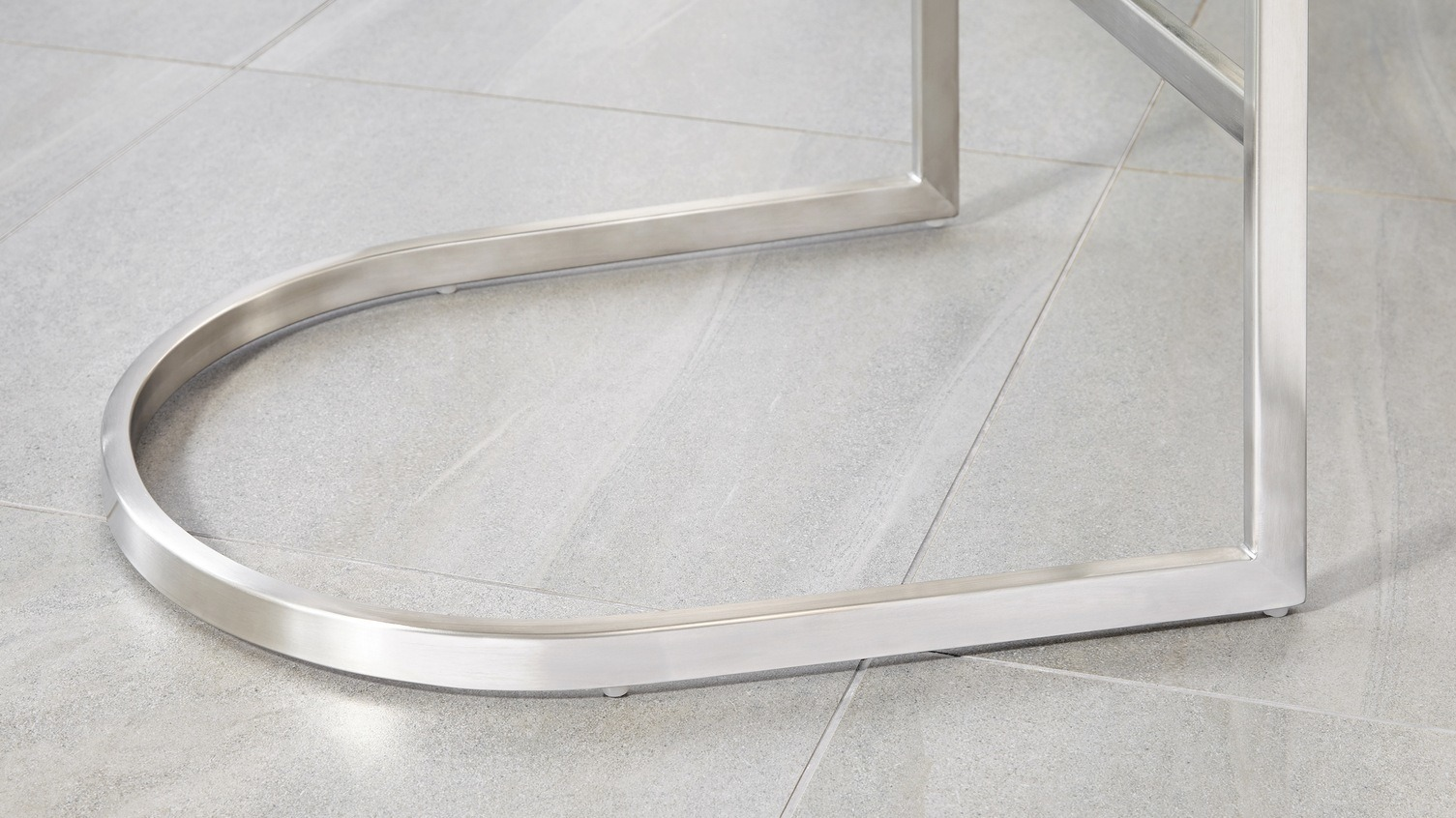 Form Stainless Steel Cantilever Bar Stool