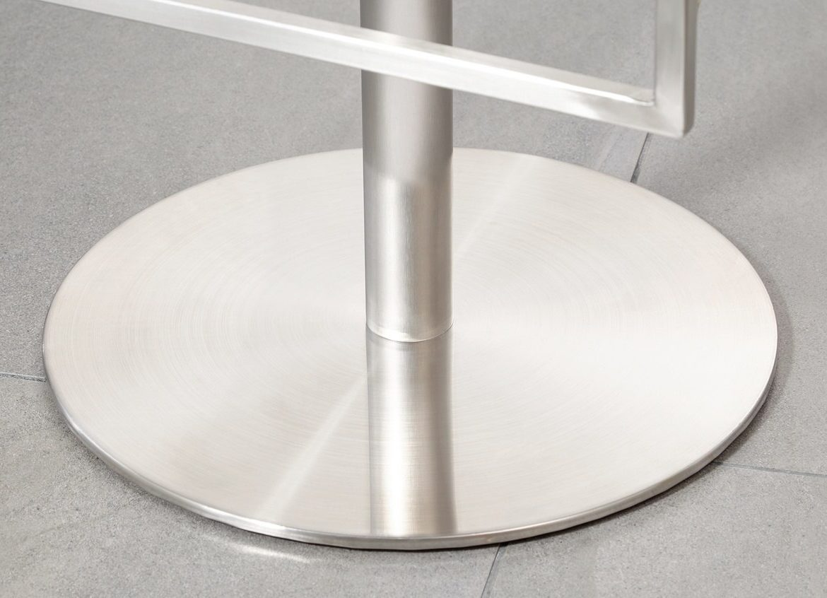 Form Stainless Steel Gas Lift Bar Stool