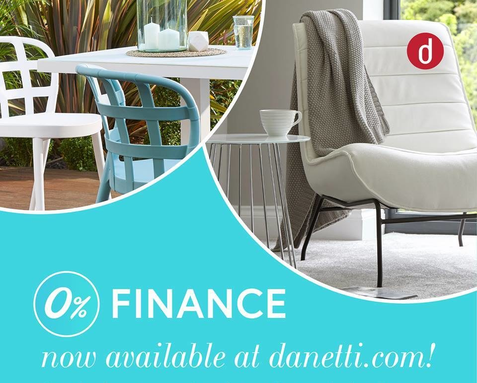 0% Finance ow available at www.danetti.com