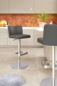 Arlo Real Leather Bar Stools