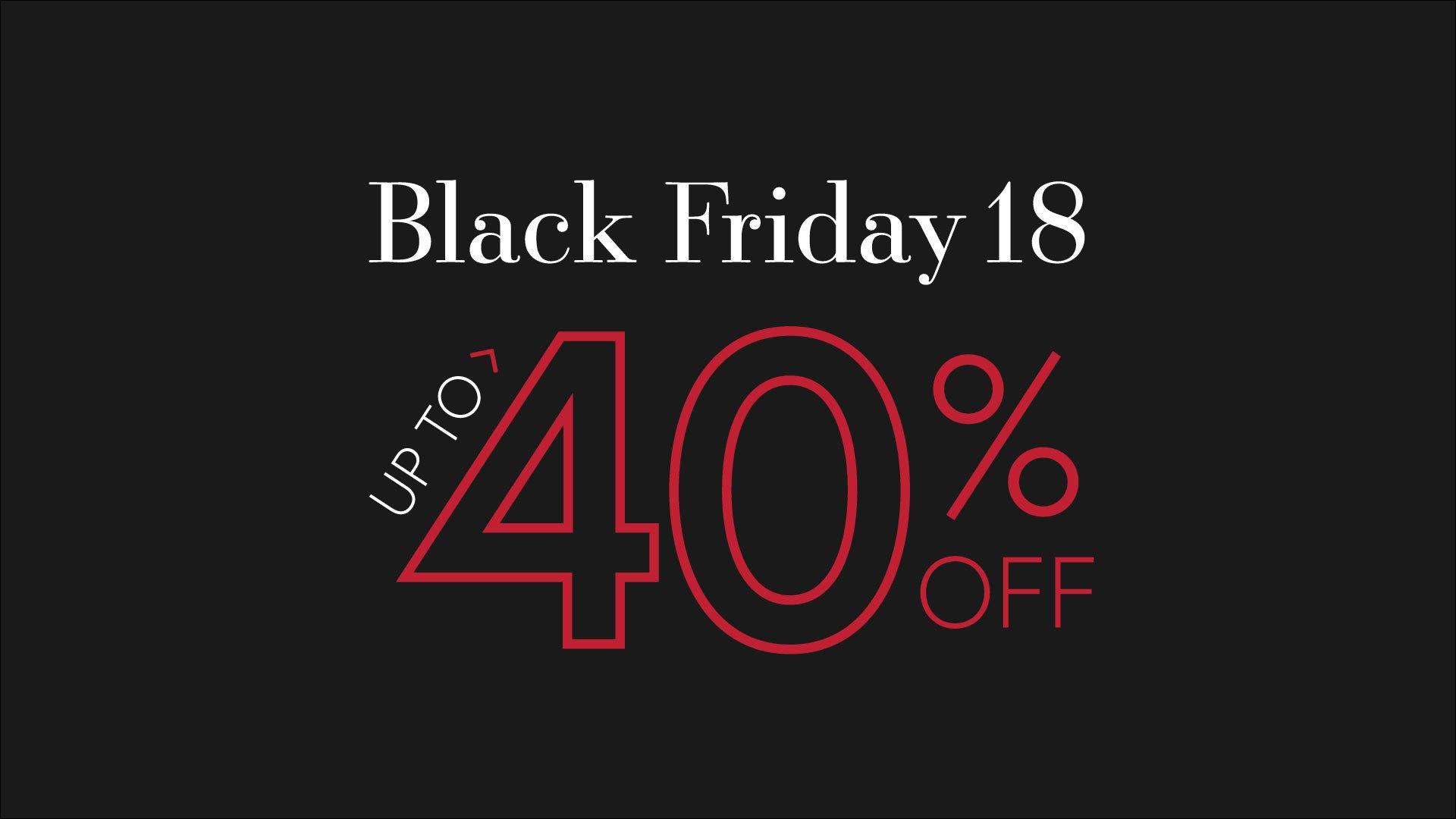 Black Friday 2018 – Save Big This Black Friday!