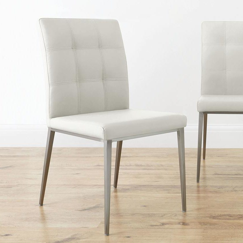Moda Dining Chair in White Danetti