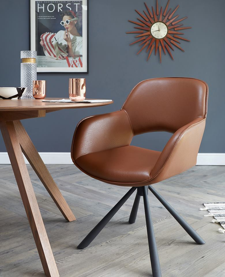 Marlow Swivel Dining Armchair