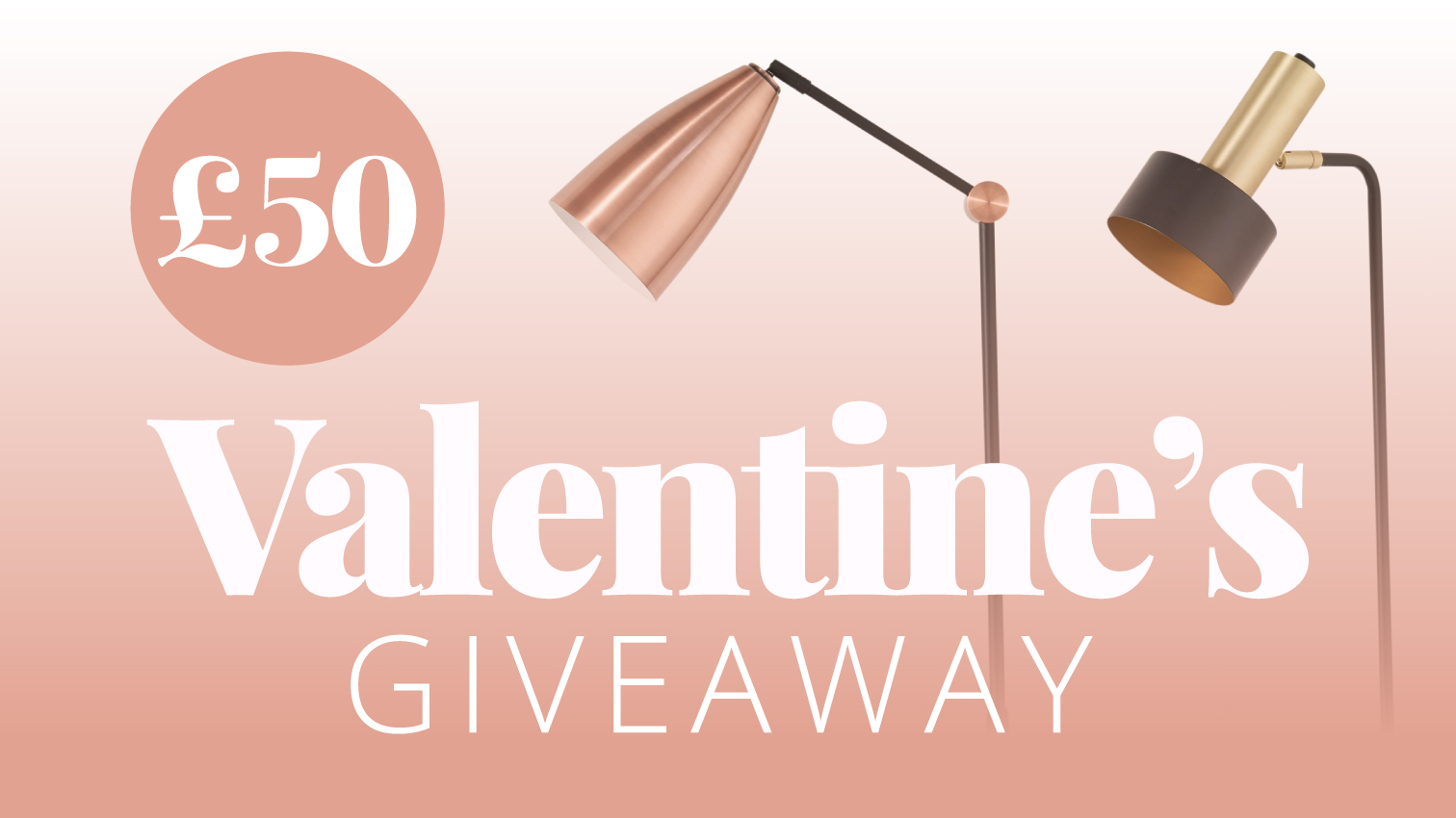 Valentine's Competition – Win £50 worth of Lighting or Resturant Vouchers!