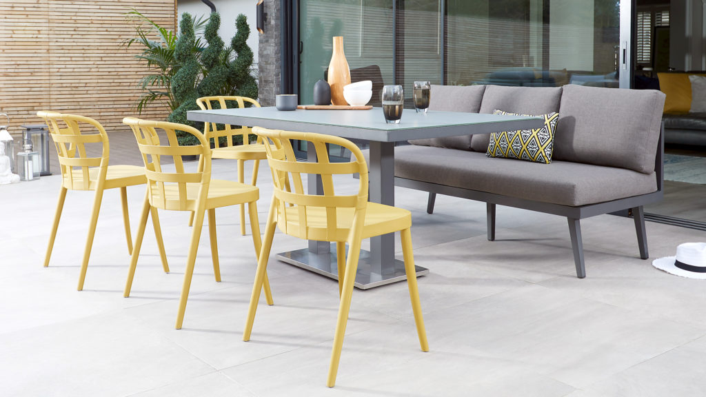 Palermo and Skye Dining Set for Gardens