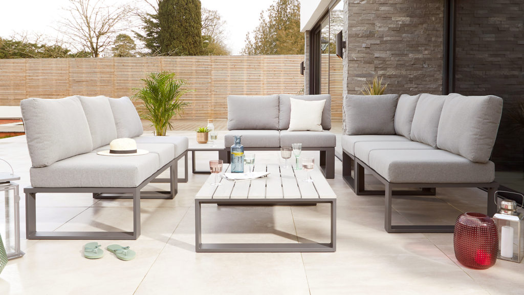 Grey Modular Garden Furniture