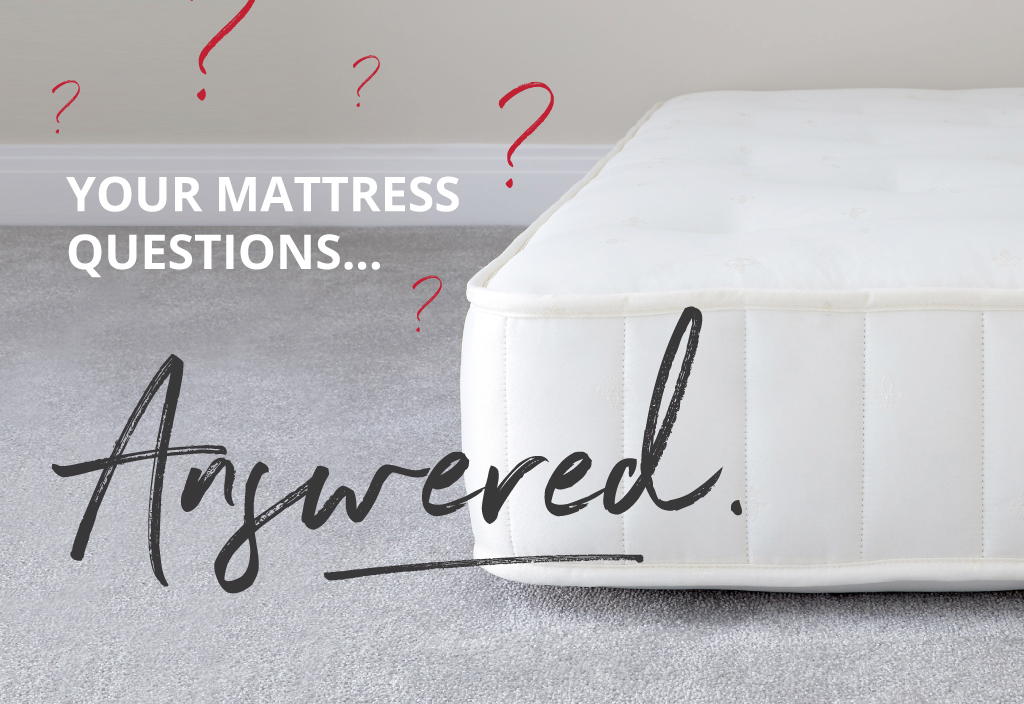 Your Mattress Buying Questions, Answered.