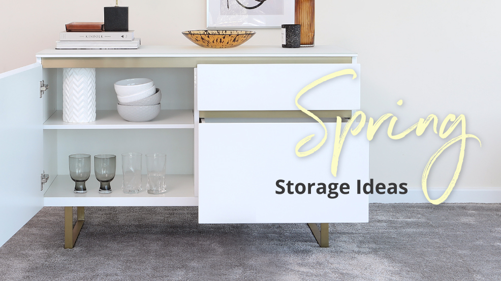 Spring Storage Ideas