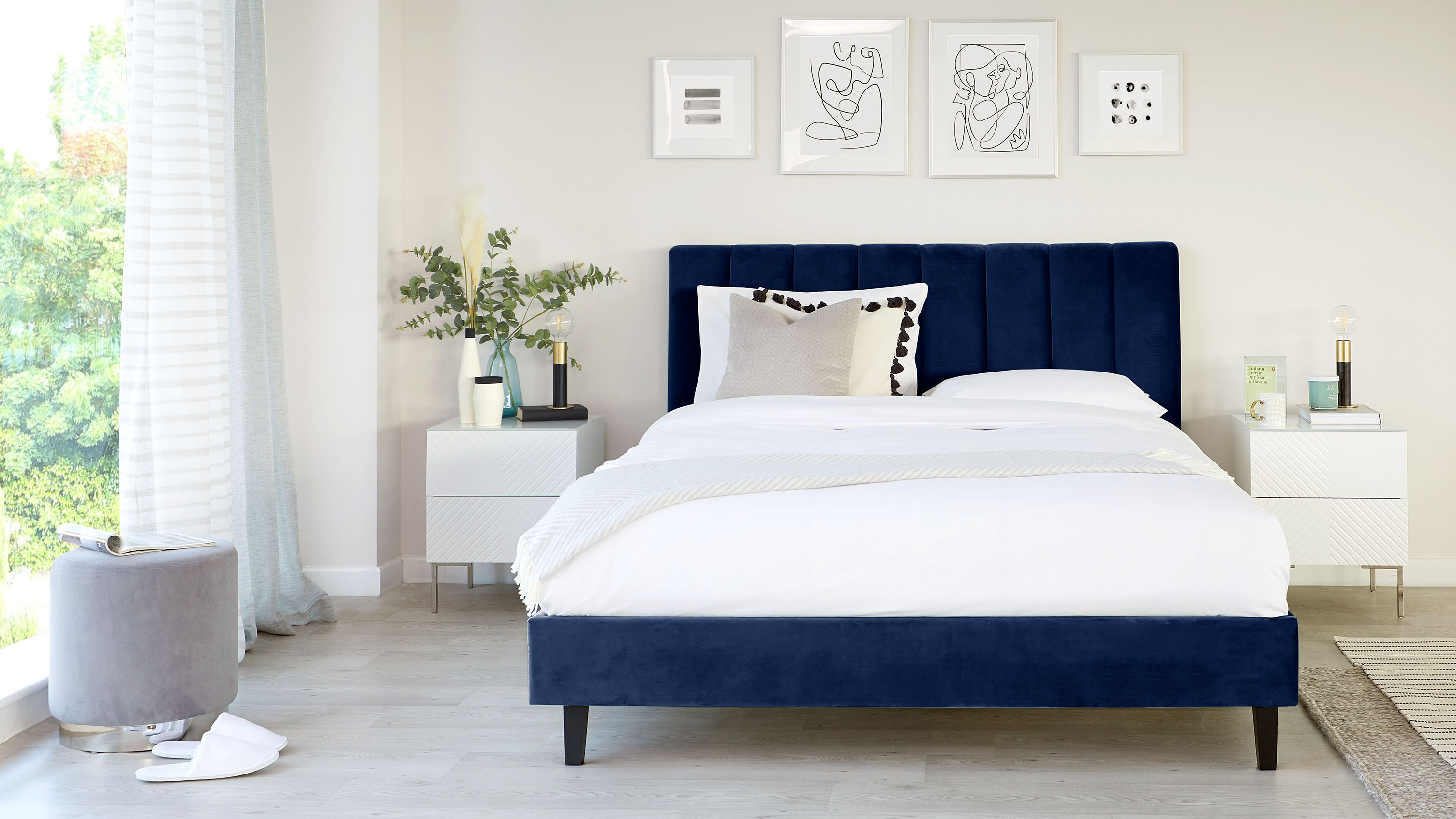 Give your bedroom a new look for less